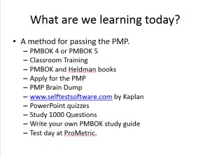 How to Pass the PMP Test