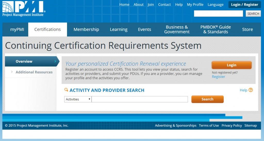 CCRS Portal